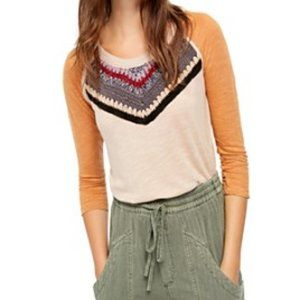 FREE PEOPLE Crochet Top Size SMALL NWT